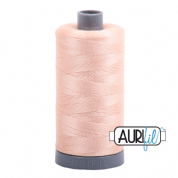 Aurifil 28 Cotton Thread - 2205 (Very Pale Peach)